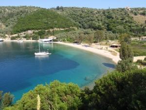 Utsikt fra landsbyen Spartochori