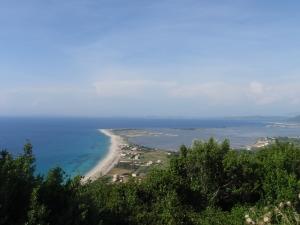 Utsikt fra tissestopp/utkikkspunkt