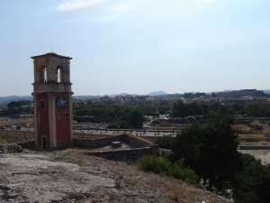 Korfu-utsikt.
