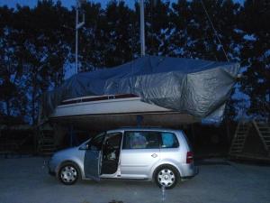 Kjøpe pent innpakket båt, noen?