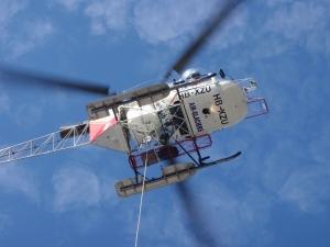 Helikopterbuken.