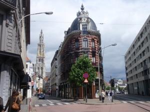 I Antwerpen.