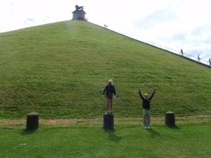 Elisabeth og Eric underholder ved Waterloo.