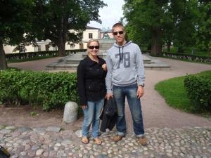 På Suomenlinna.