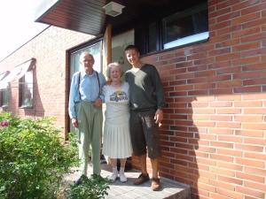 Osmo, Aino og Johan i Tampere.